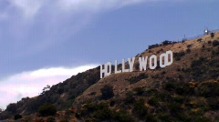 Hollywood Sign Time Lapse-Medium - stock footage