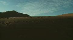 Desert Morocco big Cran Shot Stock Footage