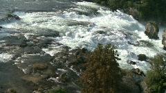Rheinfall, Rhine Falls, Airshot Part2 Stock Footage