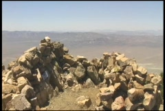 Area 51 as seen from Tikaboo Peak Stock Footage