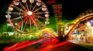 Stock Video Footage of Time Lapse Carnival