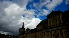 Madrid, el escorial Stock Footage