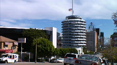 Capitol Records Stock Footage