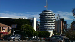 Capitol Records TimeLapse Stock Footage