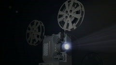 Film Projector 2 Stock Footage