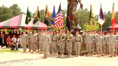 Memorial day Ceremony (HD) Stock Footage