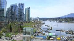 Coal Harbour Timelapse - 4 clips!!! Stock Footage