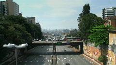 Sao Paulo Skyline Stock Footage