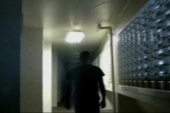 Penitentiary Guard on Patrol Stock Footage