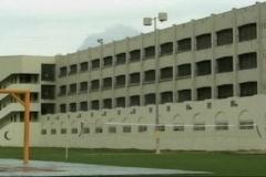 Penitentiary Patio 1 Stock Footage