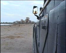 Safari Vehicle Stock Footage
