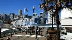 Darling Harbour Stock Footage