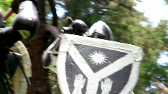 Knights in Combat 1 Stock Footage