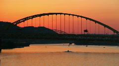 Fort Pitt Bridge 1657 Stock Footage