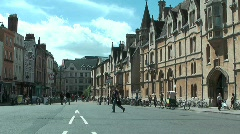 Stock Video Footage of Oxford2