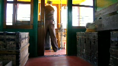 Train Ride 1 - stock footage