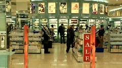 Perfumer's shop Stock Footage