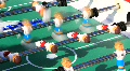 Table football HD Footage