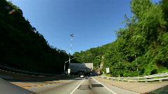 Fort Pitt Tunnel 1669 Stock Footage