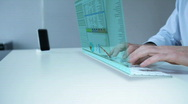 Future laptop Stock Footage