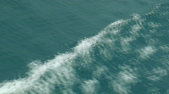 Waves overboard Stock Footage