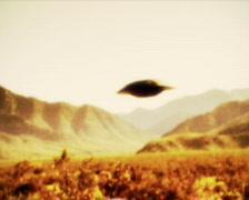 UFO 04 pal - stock footage