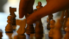 Chess Collage - 4 Shots Stock Footage