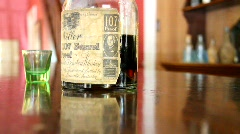 Whiskey Bottle Stock Footage
