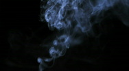 Stock Video Footage of Real smoke against black background HD 1080p