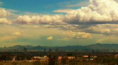 Distant Las Vegas Horizon, Time-lapse - stock footage