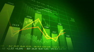 Stock market concept  Stock Footage