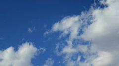 Clouds | Blue Sky | Close-Up Stock Footage