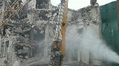 Demolition - stock footage