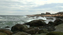 Atlantic Shore Stock Footage