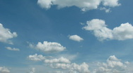 Clouds. Time Lapse.   Stock Footage