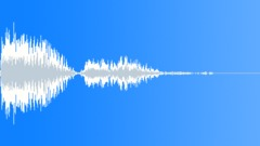 Alien percussion rifle blast Sound Effect