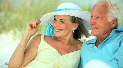 Retired Leisure Lifestyle - stock footage
