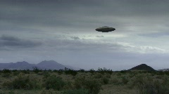 UFO 10 hd30p Stock Footage