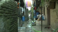 Stock Video Footage of In side the Dharavi slum, Mumbai, India