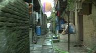 Stock Video Footage of In side the Dharavi slum, Mumbai, India
