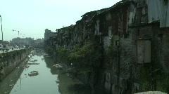 Dharavi slum, Mumbai, India Stock Footage