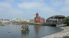 Cardiff Bay Stock Footage
