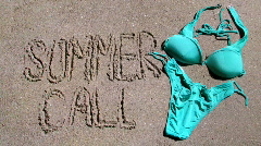 Summer call Stock Footage