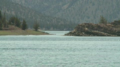 Oregon - Prineville Resevoir State Park - pull out Stock Footage