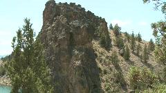 Oregon - Prineville Resevoir State Park - pan/tilt Stock Footage