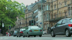 St Giles in Oxford, England Stock Footage