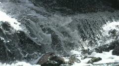 Extreme Closeup on Dam 2 Stock Footage