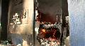 BURNING Store Looted Bombed War Riot Revolution Terror Attack Terrorist Bomb HD Footage