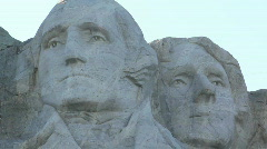 Rushmore Close-up 01 - stock footage