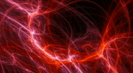 Red fibrous motion background d4095 Stock Footage